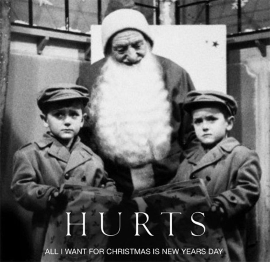 Новый клип группы Hurts - All I Want For Christmas Is New Year's Day