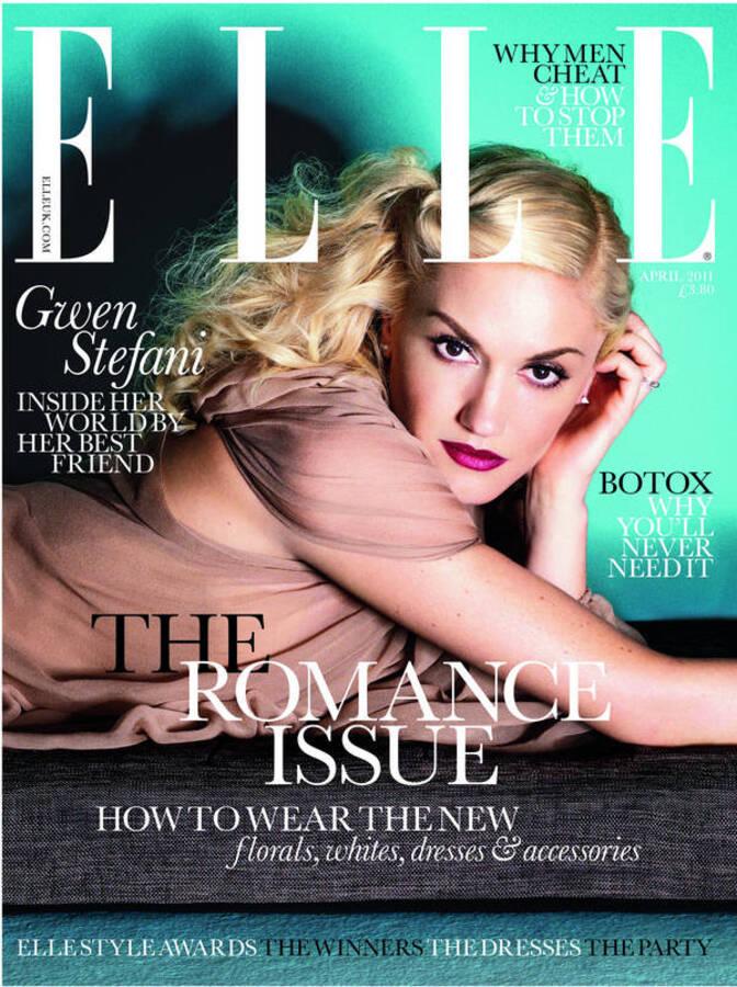 Гвен Стефани в журнале Elle. Апрель 2011
