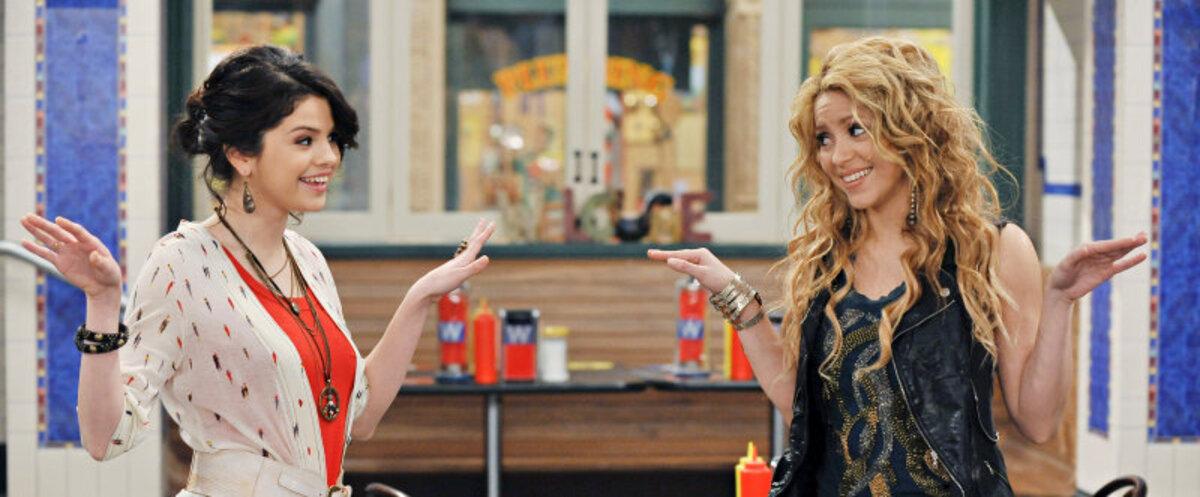 Шакира в эпизоде сериала Wizards of Waverly Place
