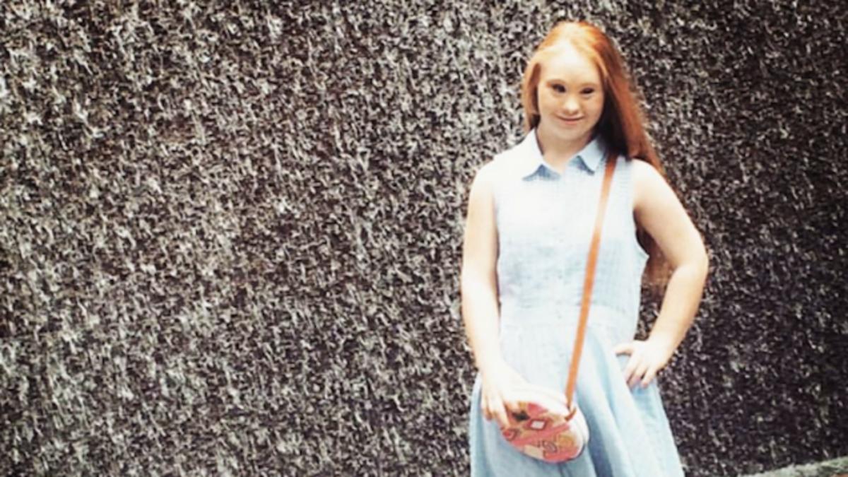 В Неделе моды в Нью-Йорке примет участие 18-летняя модель с синдромом Дауна