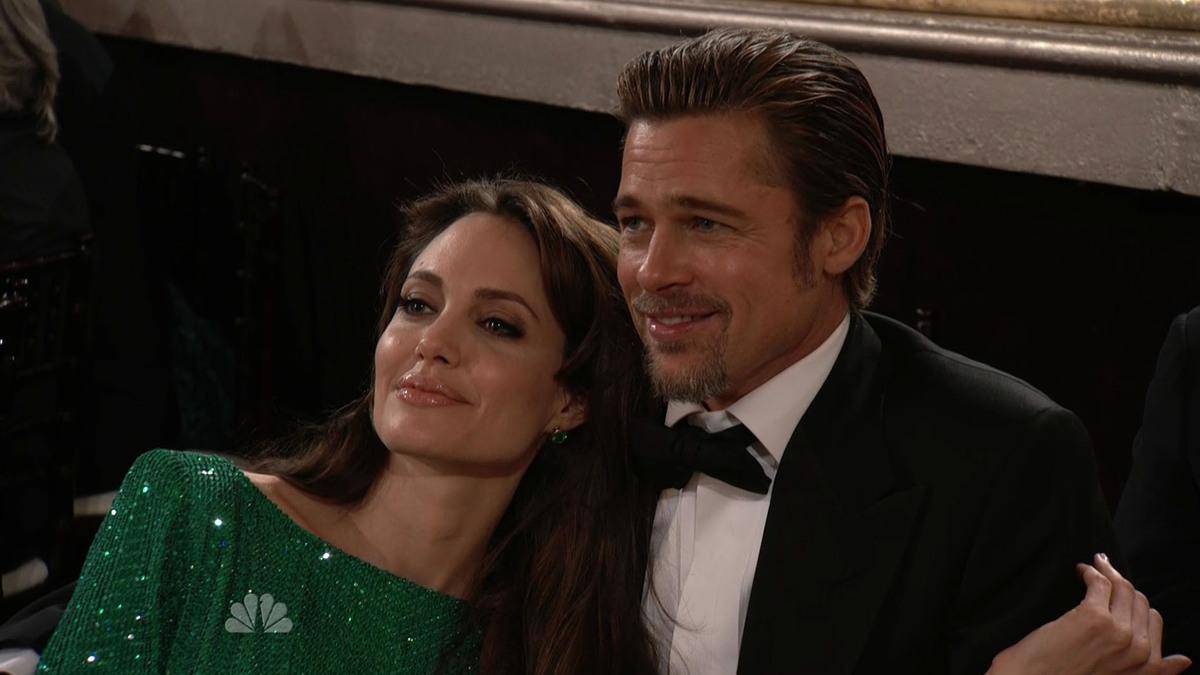 Брэд Питт и Анджелина Джоли сбежали от детей