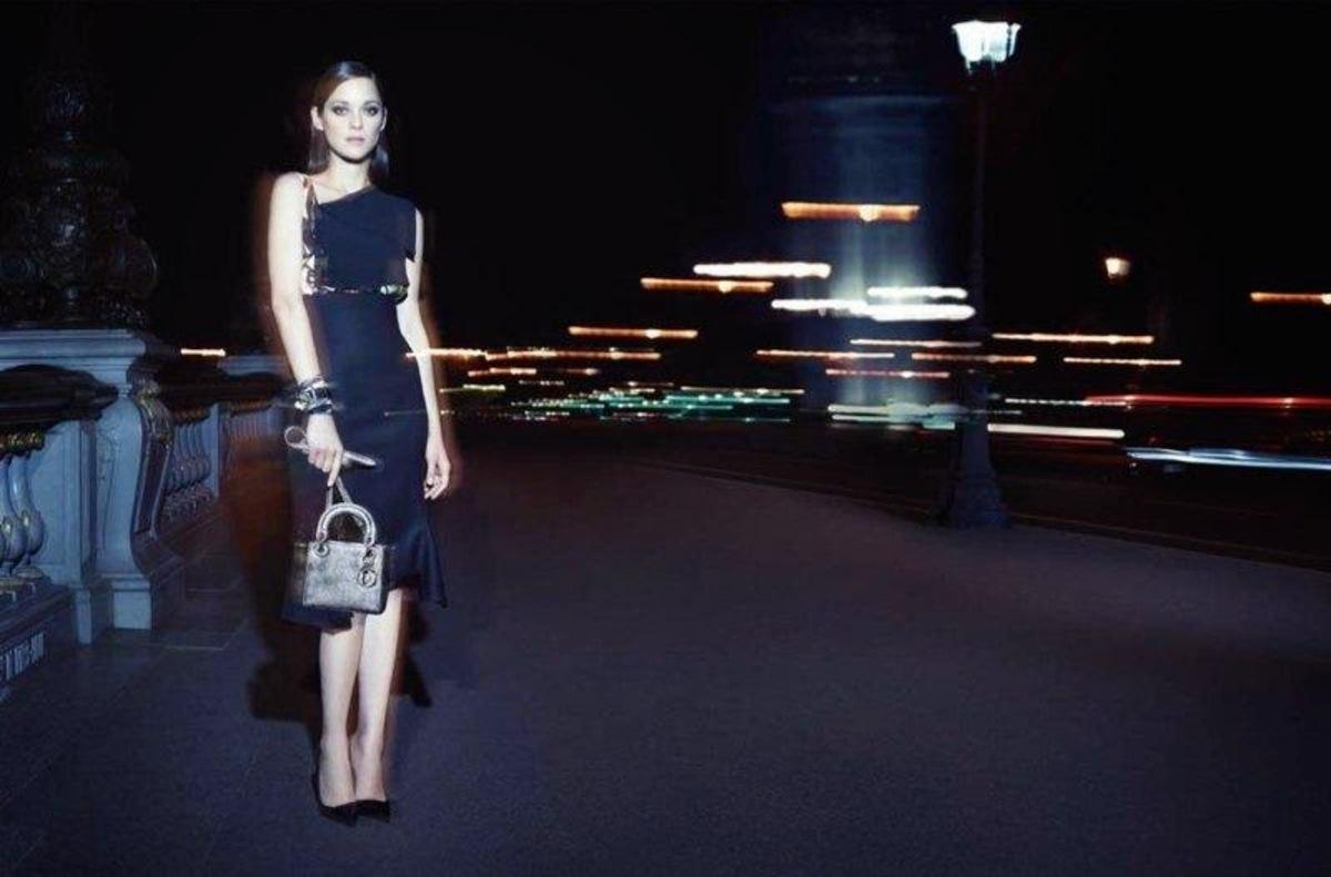 Марион Котийяр в рекламной кампании Lady Dior. Осень / зима 2014-2015