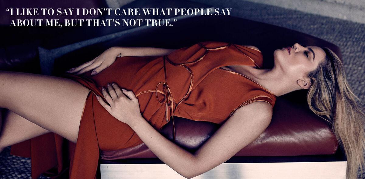 Хлое Кардашьян рассказала о своем образе в журнале Harper's Bazaar