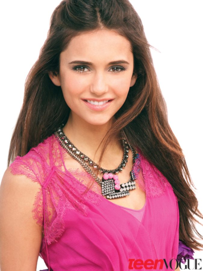 Нина Добрев в журнале Teen Vogue. Апрель 2011