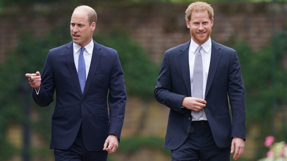 «Устроили шоу и попрощались»: принцы Гарри и Уильям не помирятся