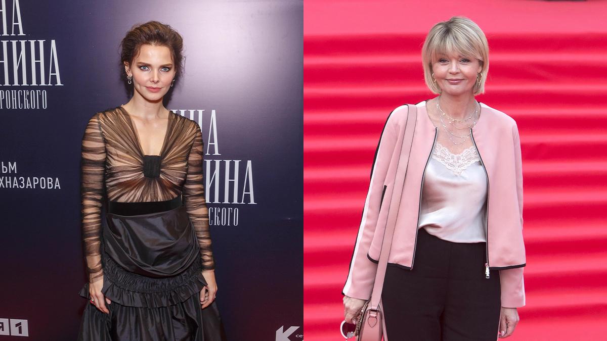 «Фантастика!»: Меньшову восхитил образ Лизы Боярской в «нарциссическом» платье