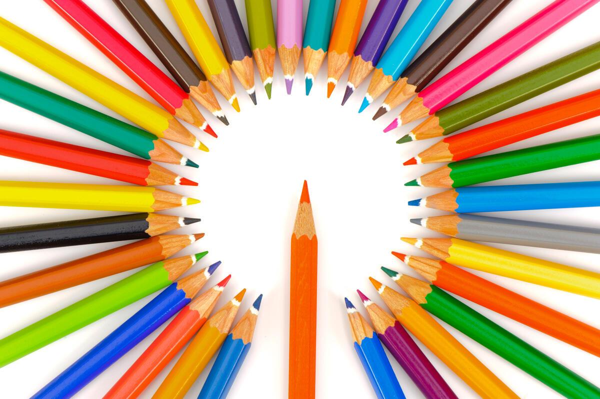 Тест: выберите цвет, и мы назовем ваш психологический возраст