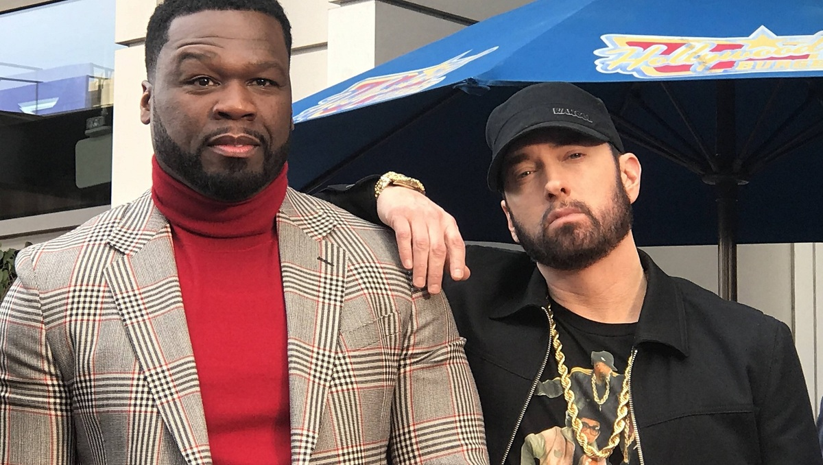 Не могли без легенды: 50 Cent позвал Эминема в драму Black Mafia Family