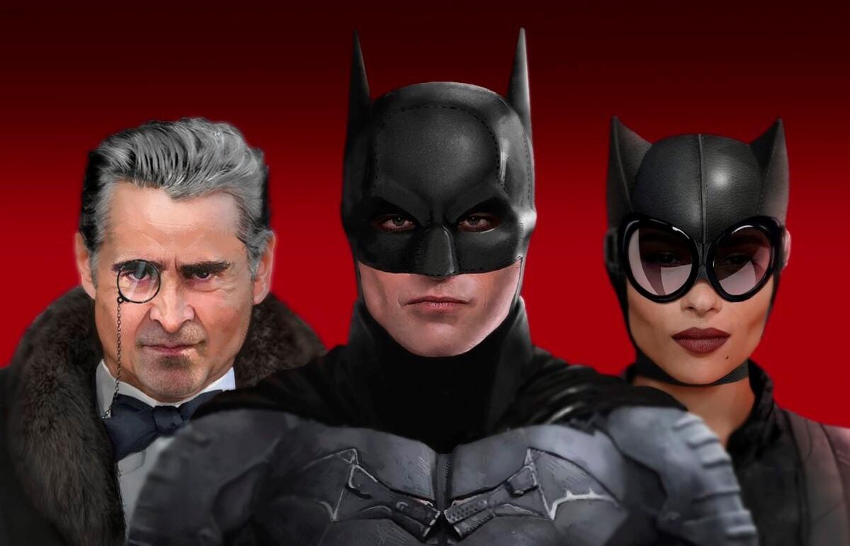Питер Сарсгаард ни разу не видел Колина Фаррелла на съемочной площадке «Бэтмена»