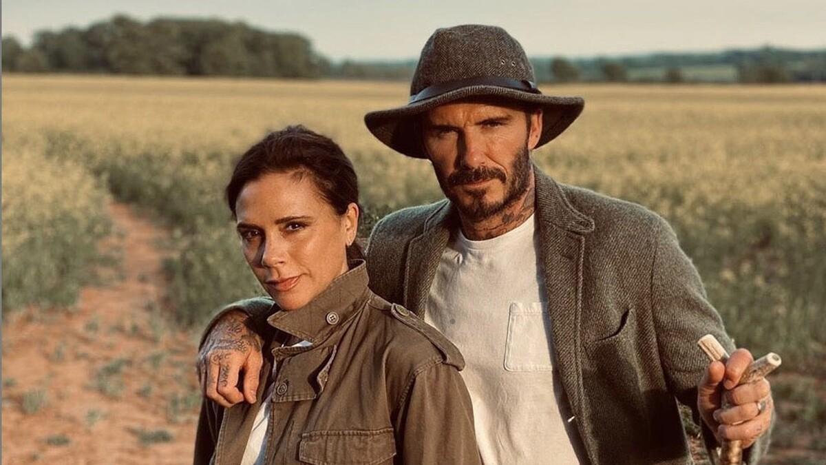 В парных нарядах с 1999 года: Дэвид и Виктория Бекхэм отметили годовщину