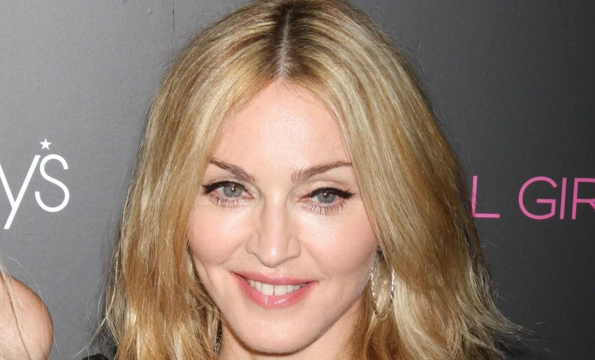 Мадонна прифотошопила свою голову к телу юной девушки: фото