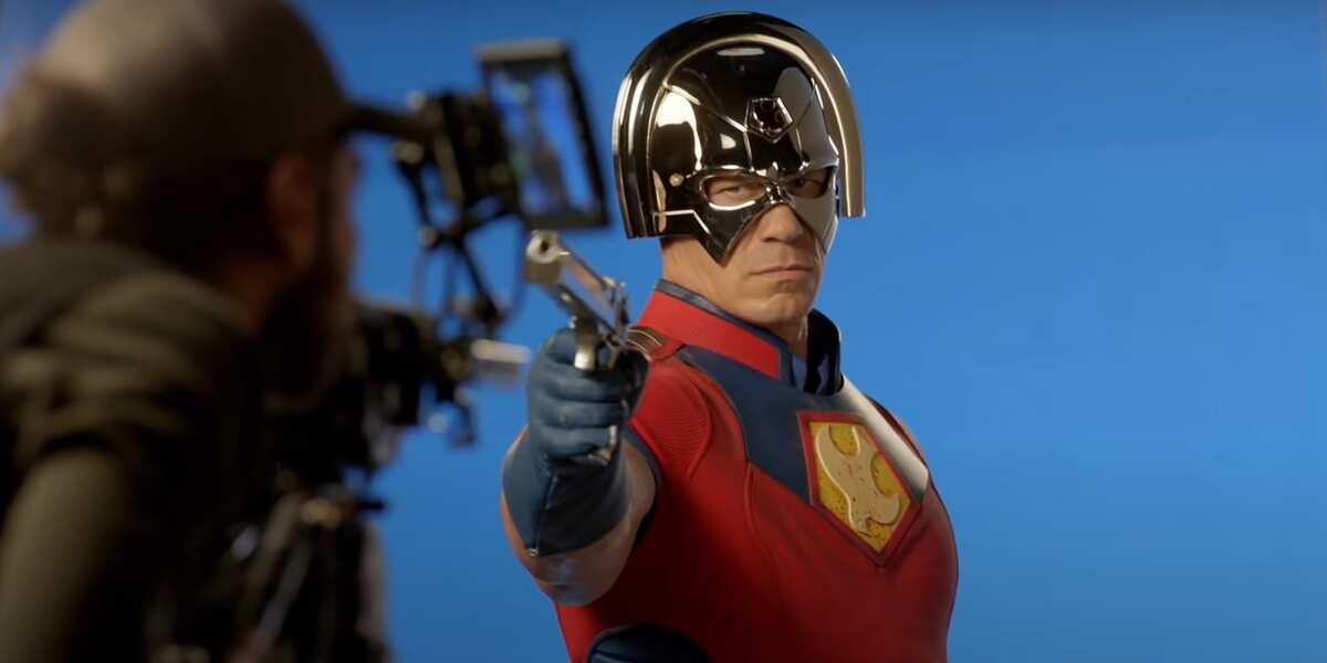 Первые фото со съемок сериала DC «Миротворец»