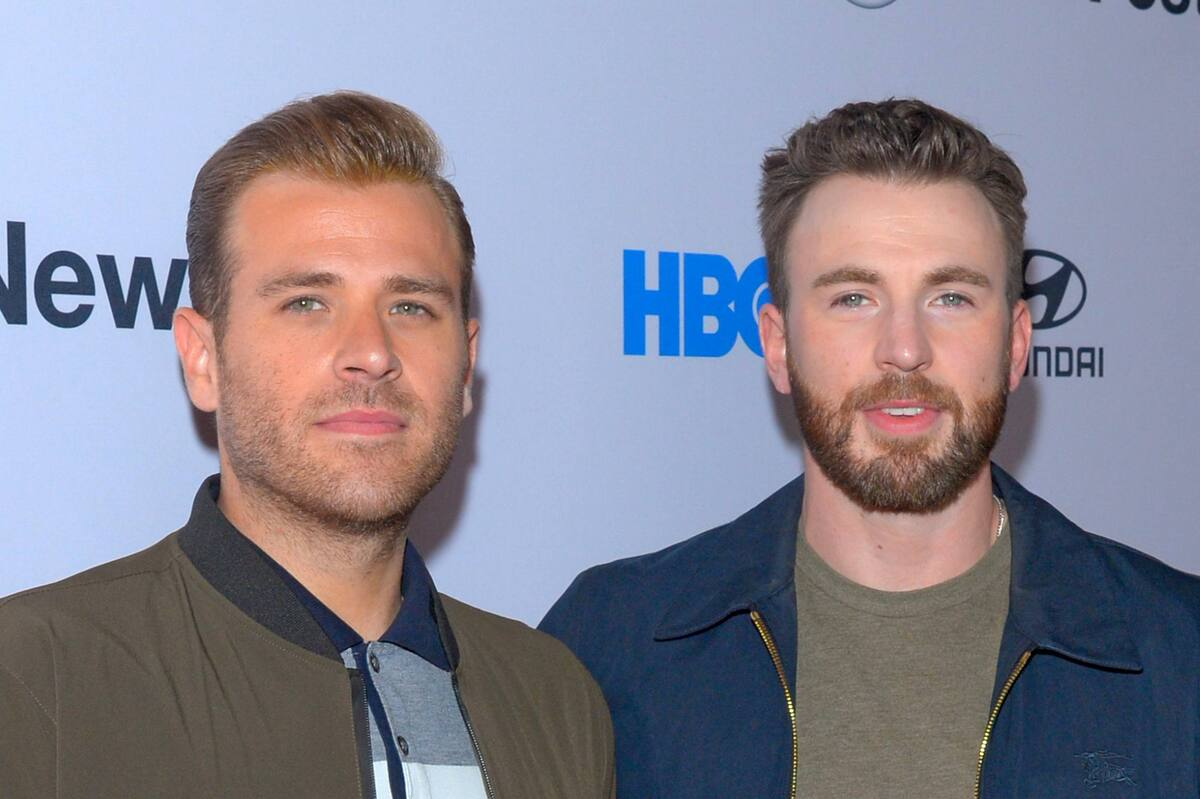 Фото: Крис Эванс поддержал младшего брата на премьере фильма Sell By