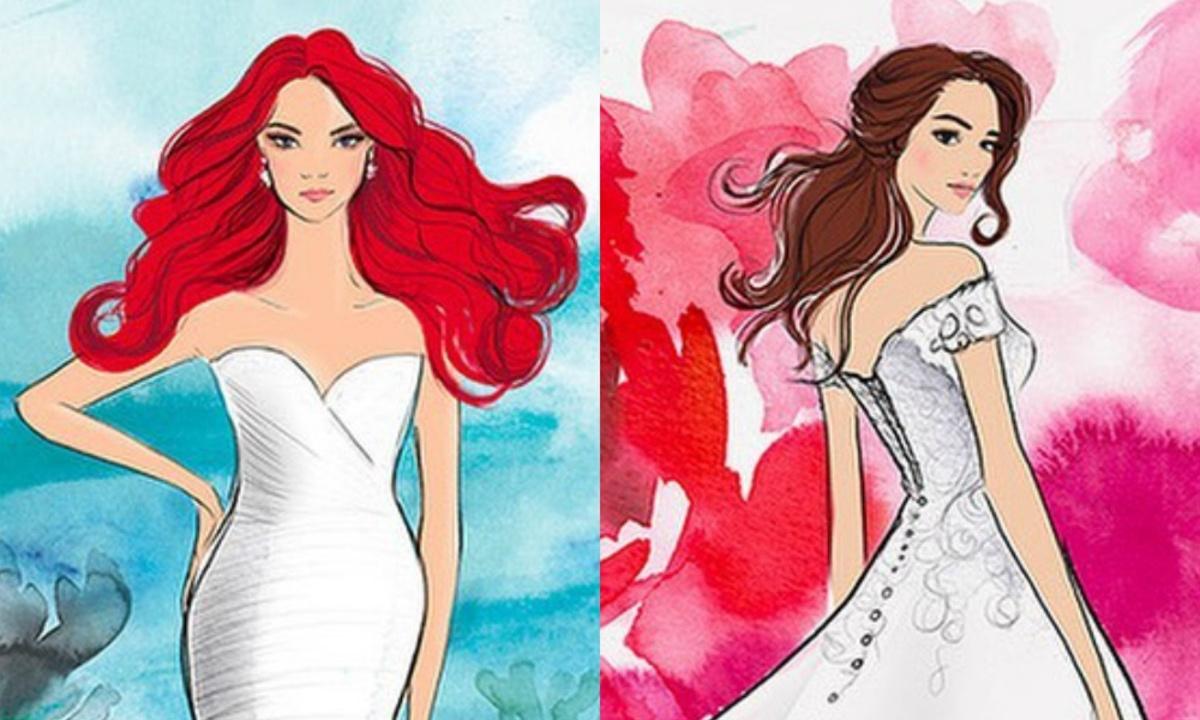 Ариэль или Белль? На Неделе моды представят свадебные платья в стиле диснеевских принцесс