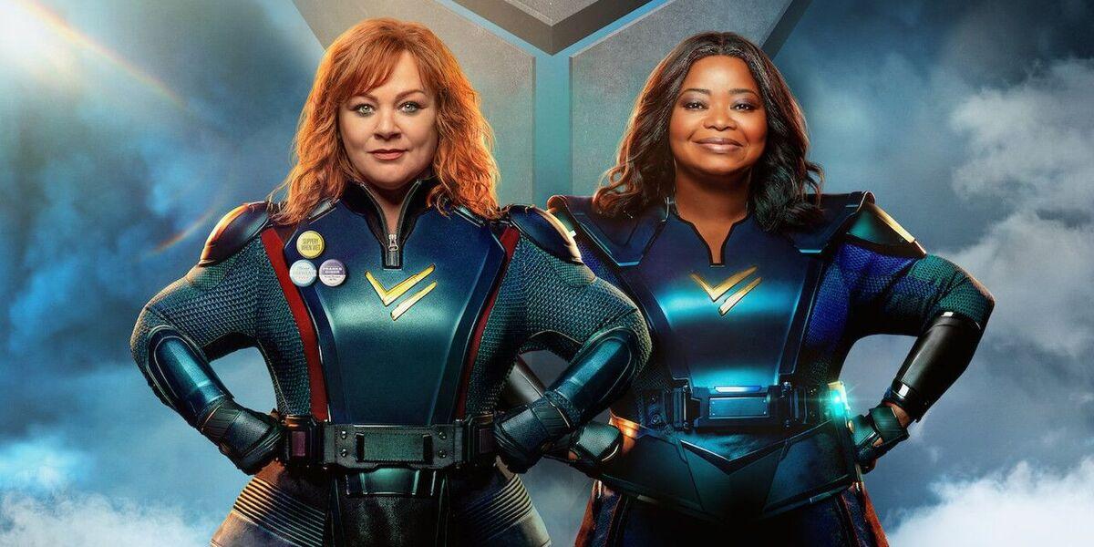 Октавия Спенсер и Мелисса Маккарти обретают сверхспособности в первом трейлере комедии «Сила Грома»