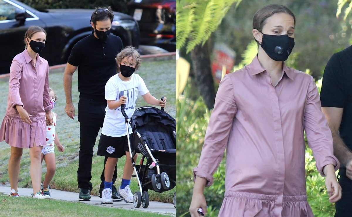 Натали Портман заподозрили в третьей беременности из-за фото папарацци