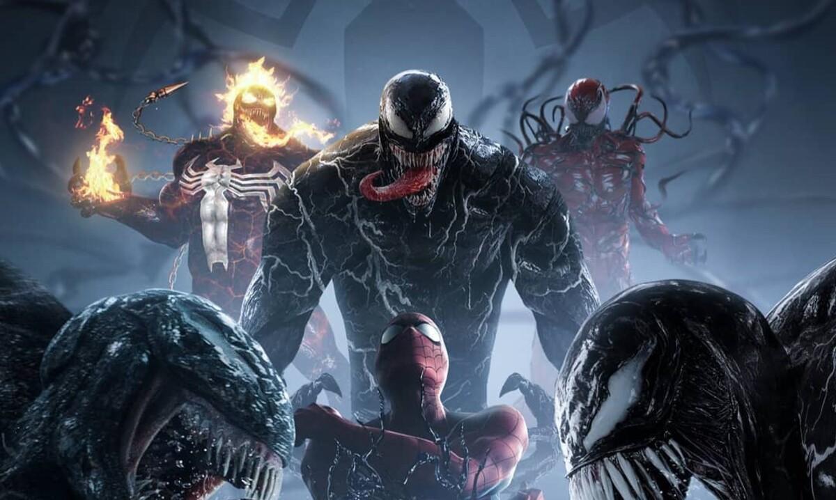 Бедный Человек-паук: на фан-постере «Венома» представили вселенную симбиотов