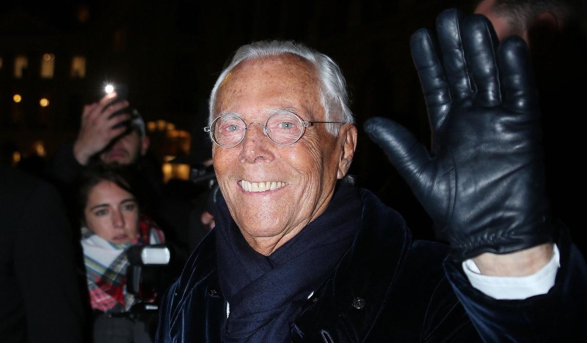 Уходит эпоха: Джорджо Армани планирует выйти на пенсию