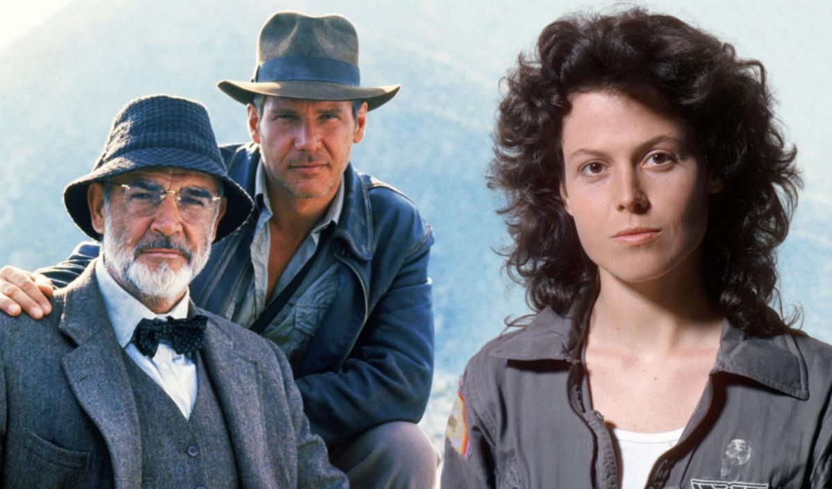 Харрисон Форд и Сигурни Уивер сыграли двух из пятидесяти величайших героев в кино