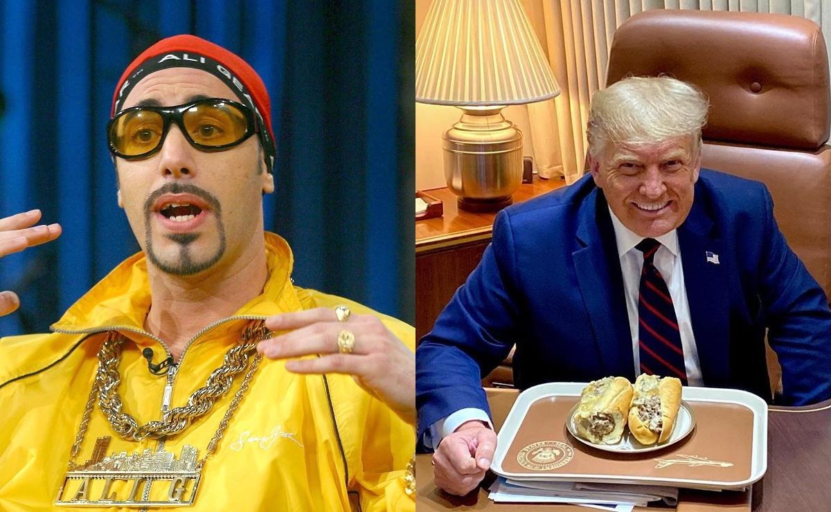 Саша Барон Коэн рассказал, как брал интервью у Дональда Трампа в образе Али Джи