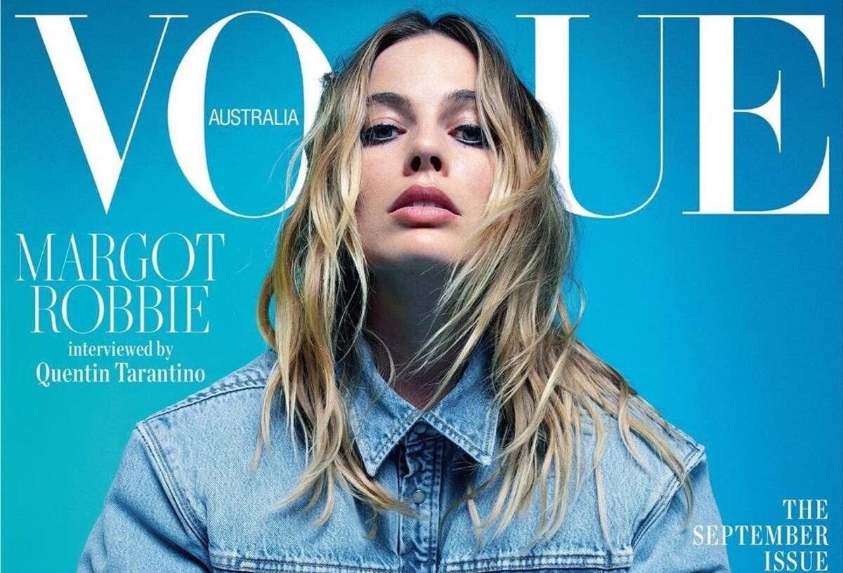 Марго Робби снялась в фотосессии для Vogue и дала интервью Квентину Тарантино