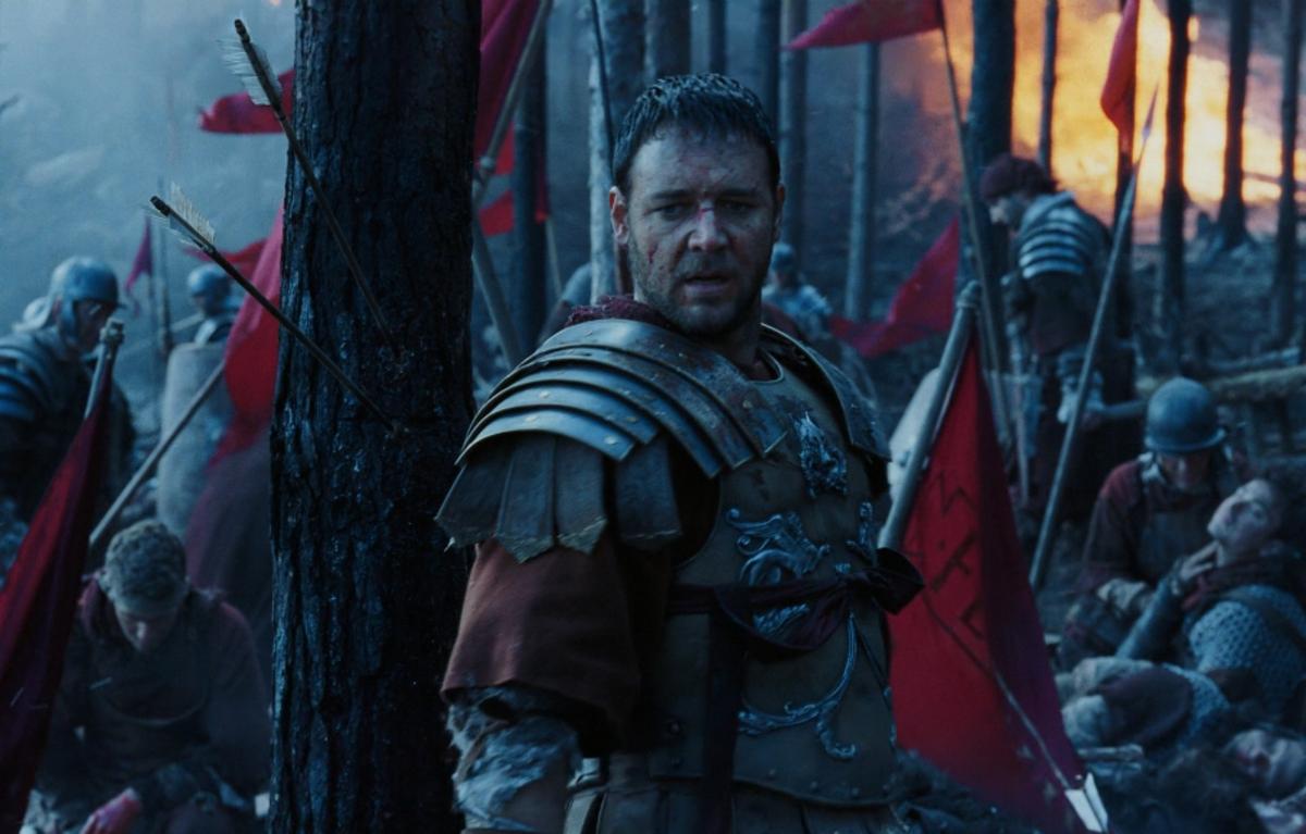 Рассел Кроу признался, что оригинальный сценарий «Гладиатора» был ужасен
