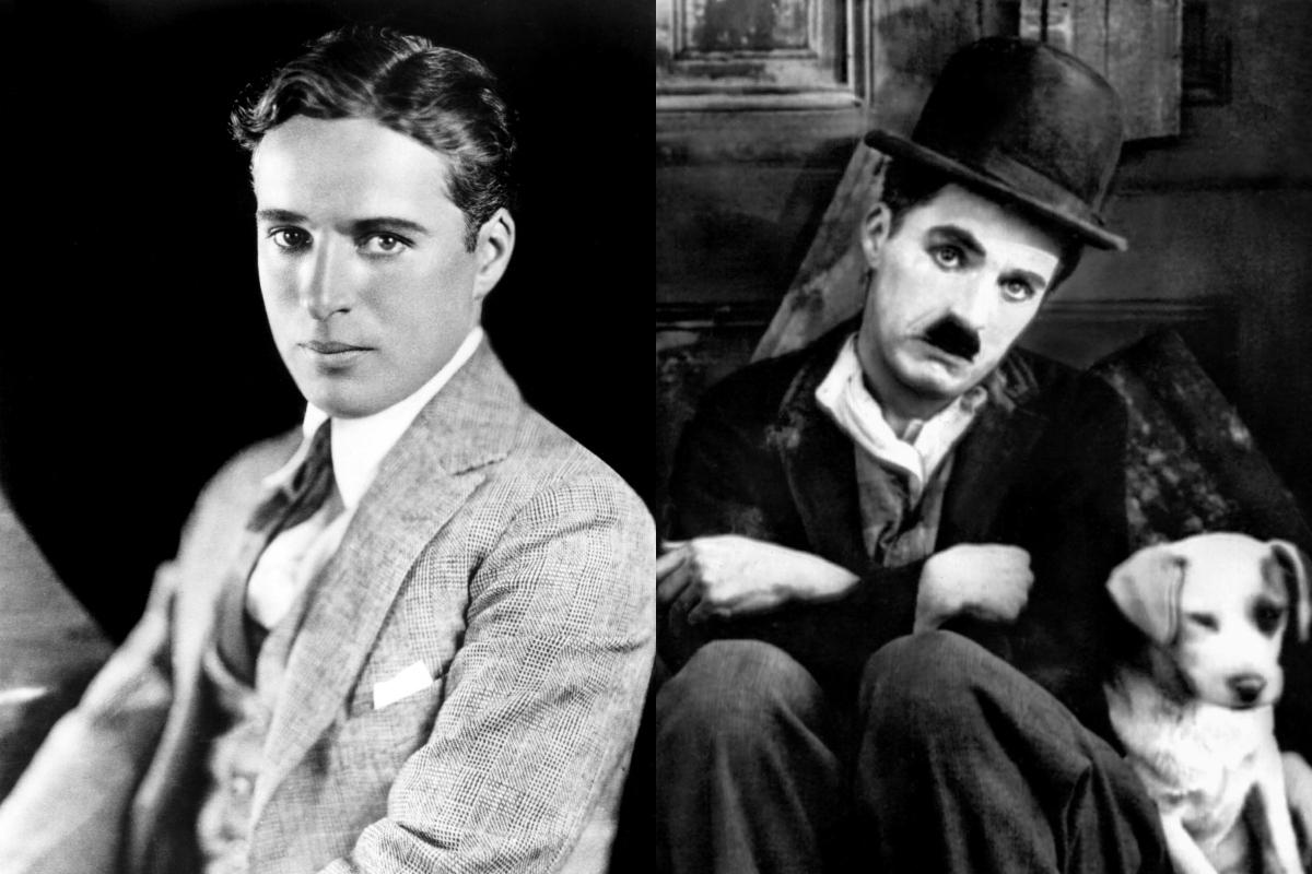 Неожиданный красавец: как на самом деле выглядел Чарли Чаплин без грима
