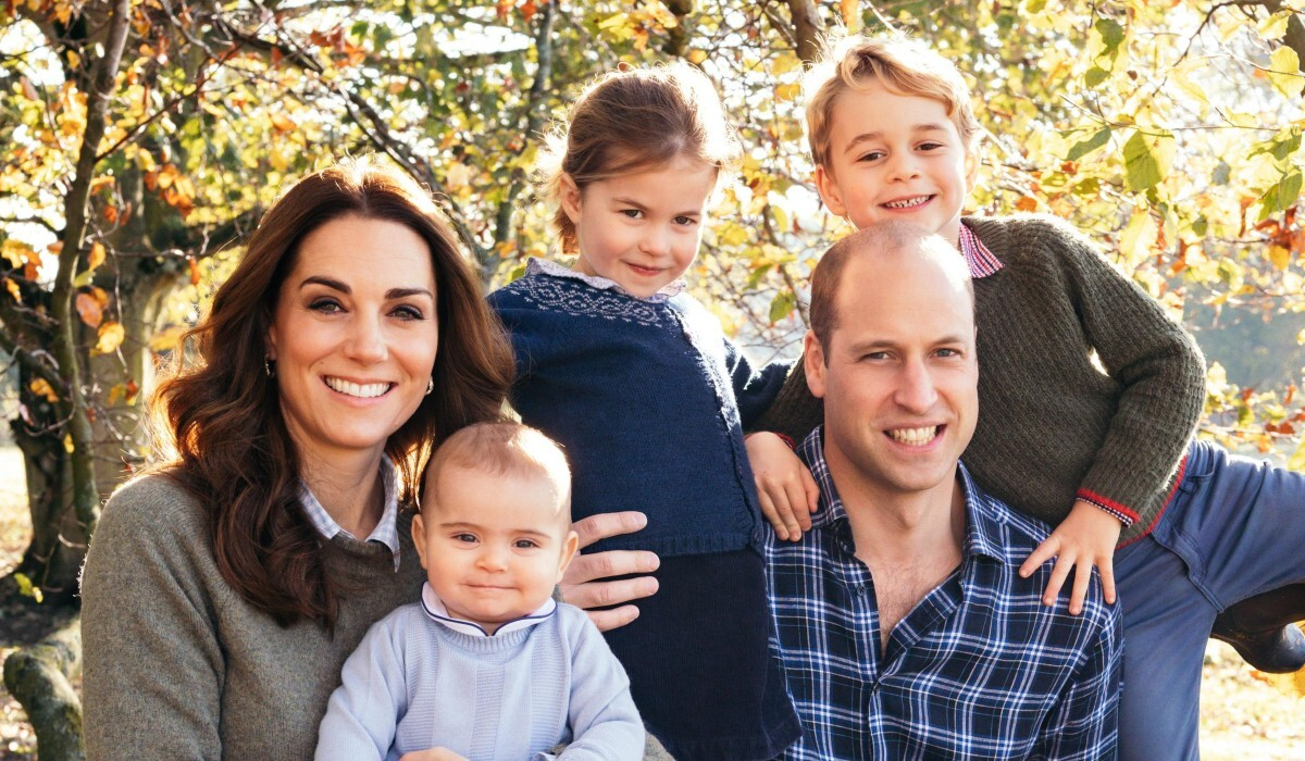 Кейт Миддлтон показала нежное фото трехлетнего сына Луи