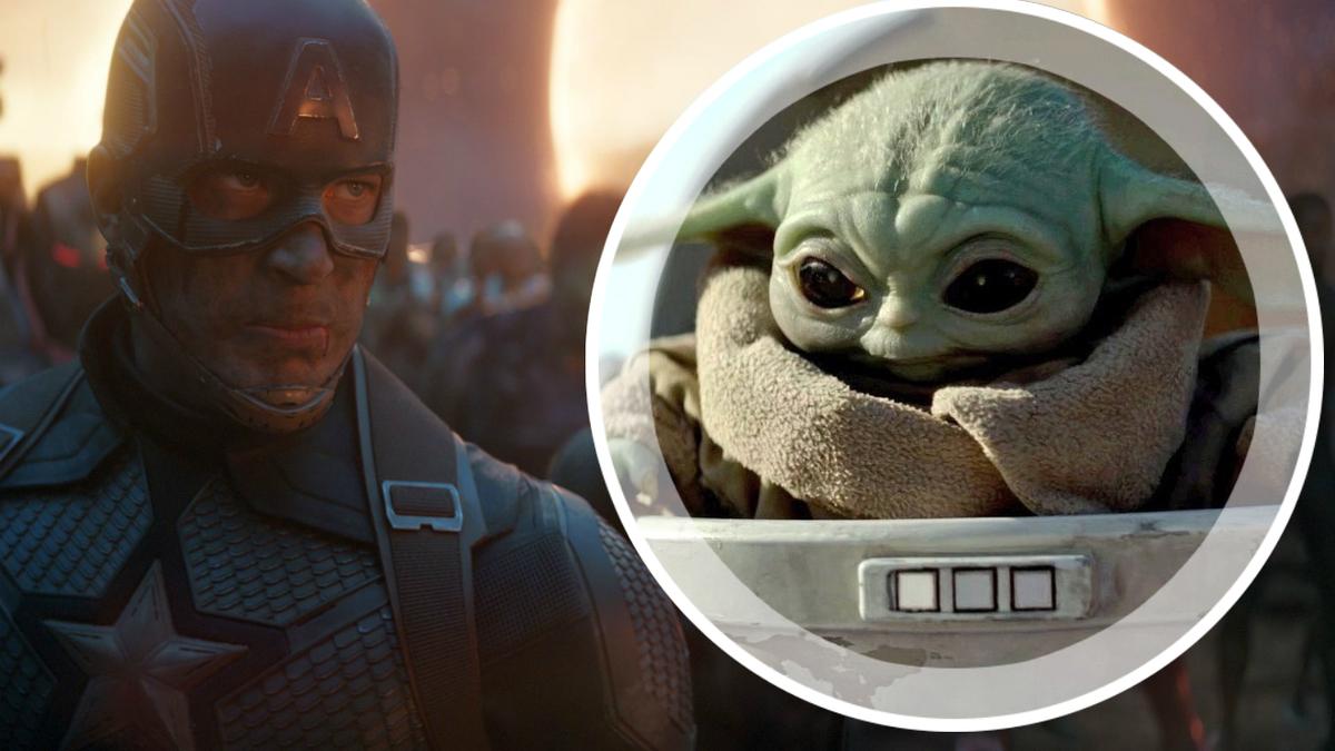 Мини-кроссовер «Звездных войн» и «Мстителей: Финал»: малыш Йода пришел на помощь супергероям в новом видео