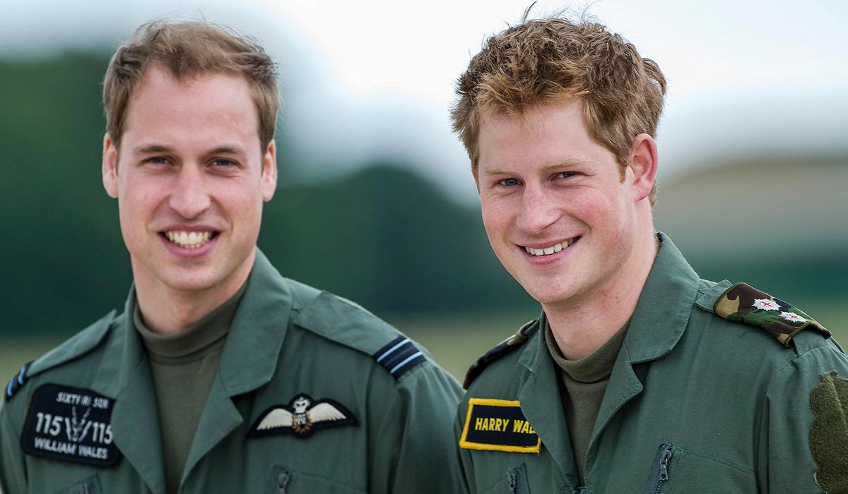 Принц Гарри и принц Уильям будут по разные стороны на похоронах