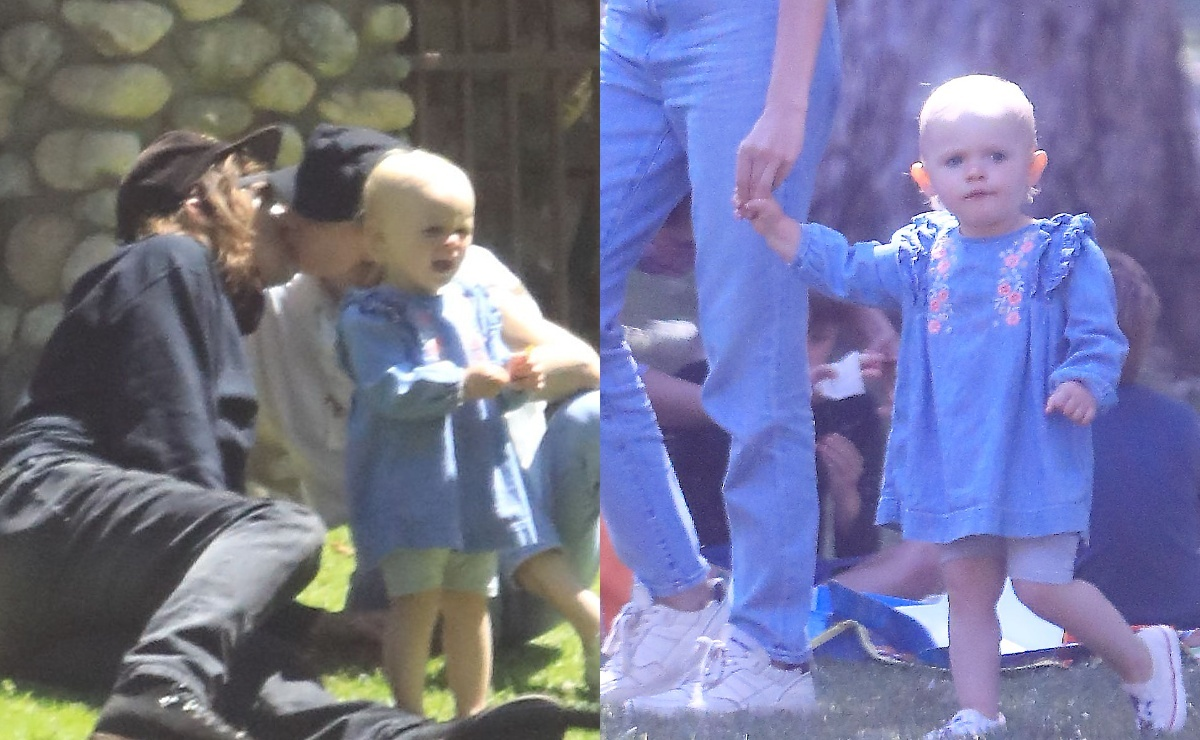 Фото: Норман Ридус и Диана Крюгер наслаждаются летом на пикнике с дочерью