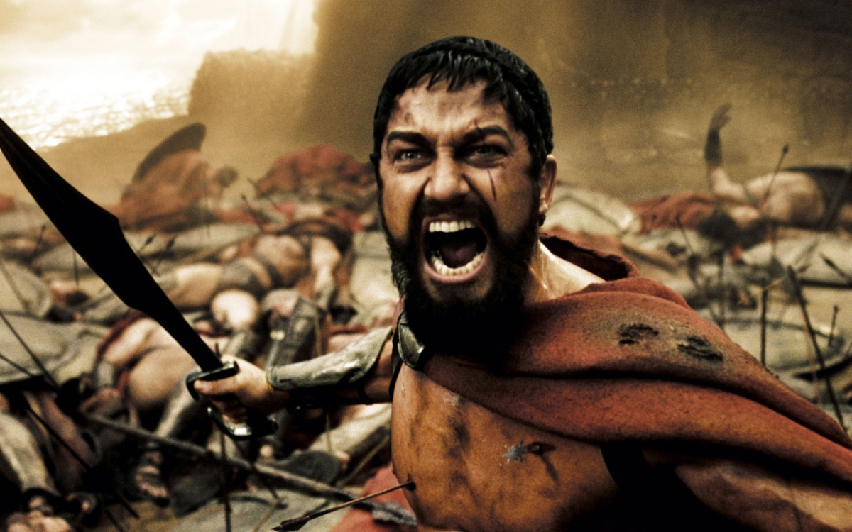 Джерард Батлер рассказал, как появился знаменитый клич «Это Спарта!» в фильме «300 спартанцев»