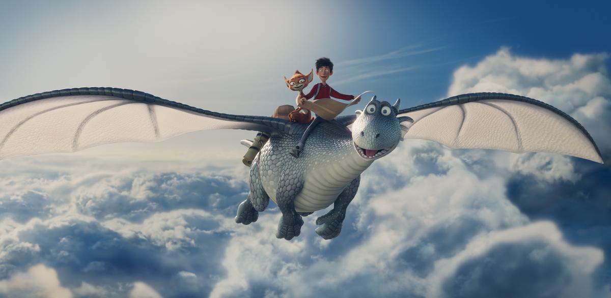 Разыгрываем билеты на специальный показ мультфильма «Повелитель драконов» в Санкт-Петербурге