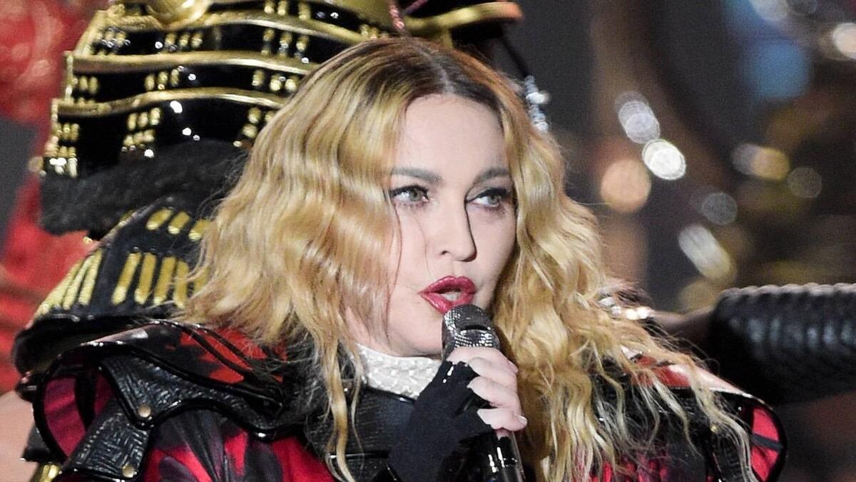«Инопланетное лицо»: обнаженные фото Мадонны оказались полуправдой