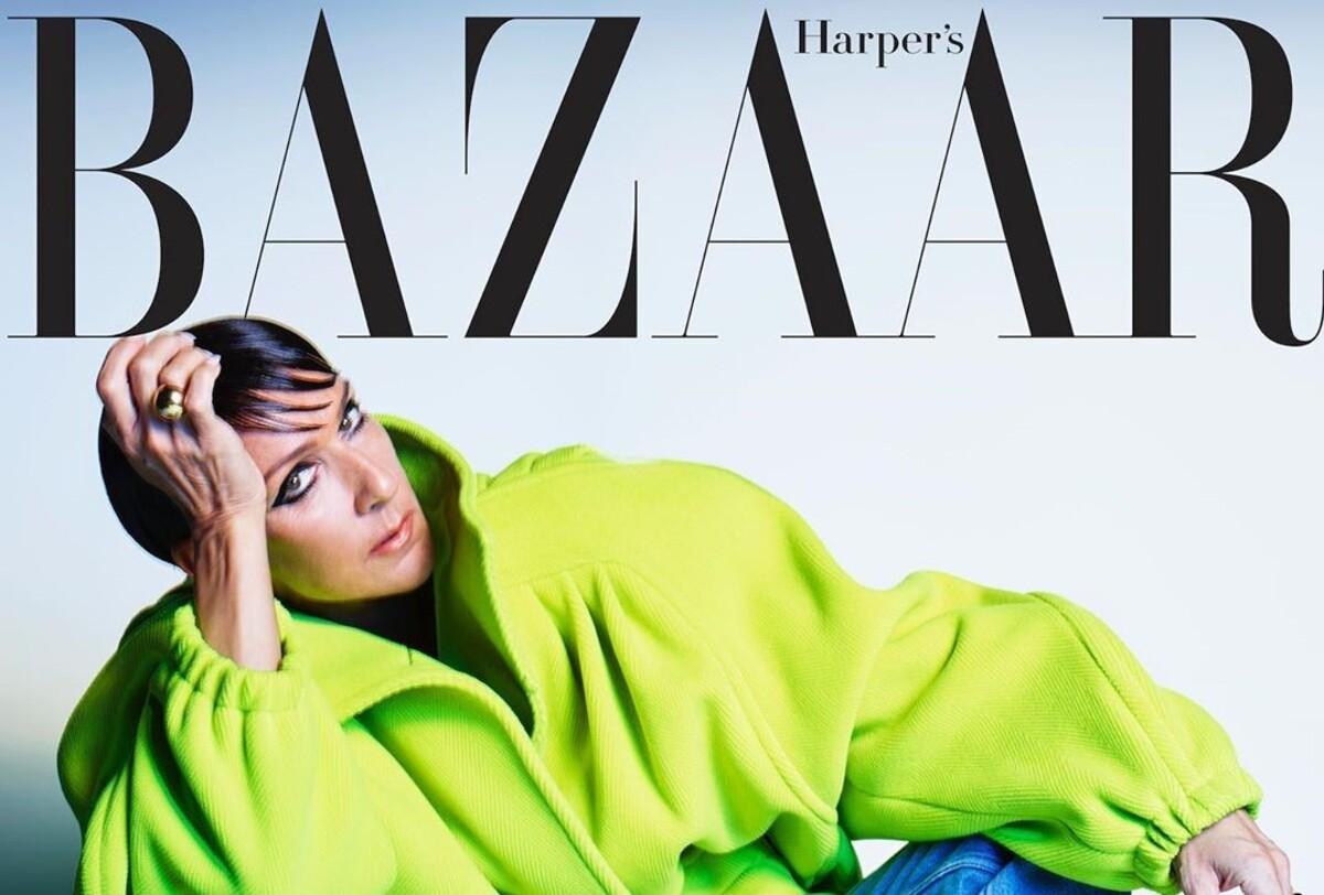 Фото: неузнаваемая Селин Дион на обложке Harper's Bazaar
