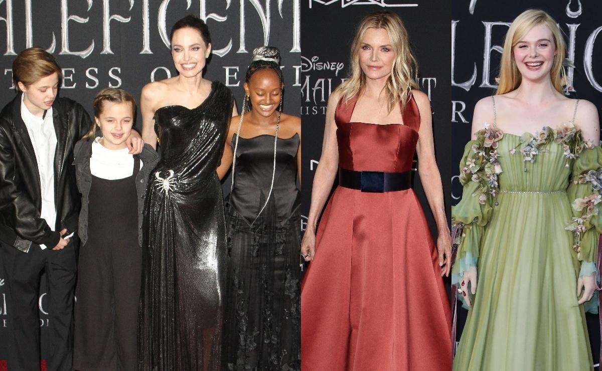 «Малефисента: Владычица тьмы»: Анджелина Джоли, Мишель Пфайффер и другие на красной дорожке