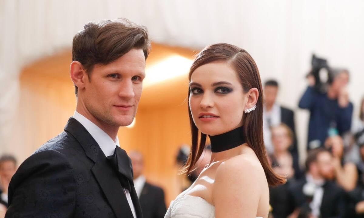 Мэтт Смит и Лили Джеймс окончательно расстались: «Она хочет нормального парня»