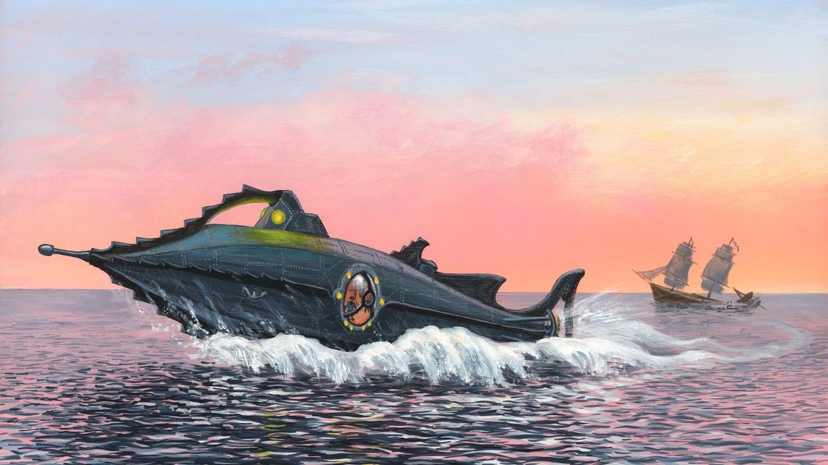 Успех обеспечен: Disney+ экранизирует  «20000 лье под водой» Жюля Верна