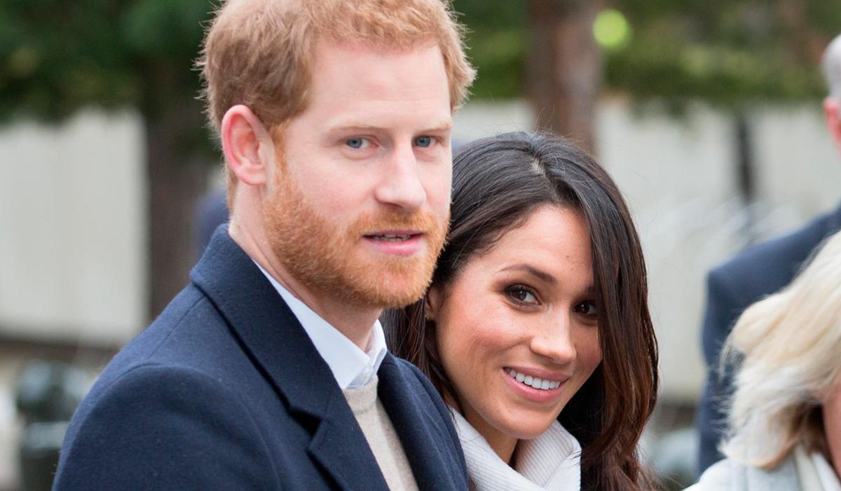 Меган и Гарри оставили кое-что на память после венчания на заднем дворе