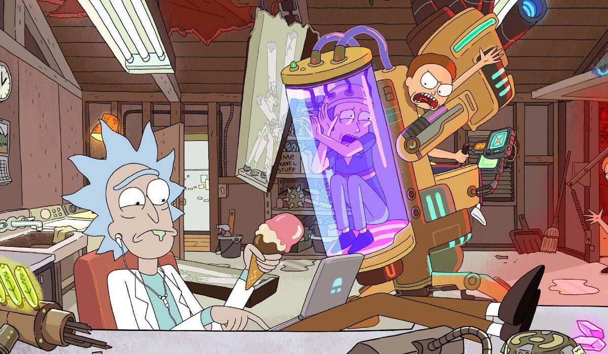 В трейлере пятого сезона «Рика и Морти» объявили дату премьеры