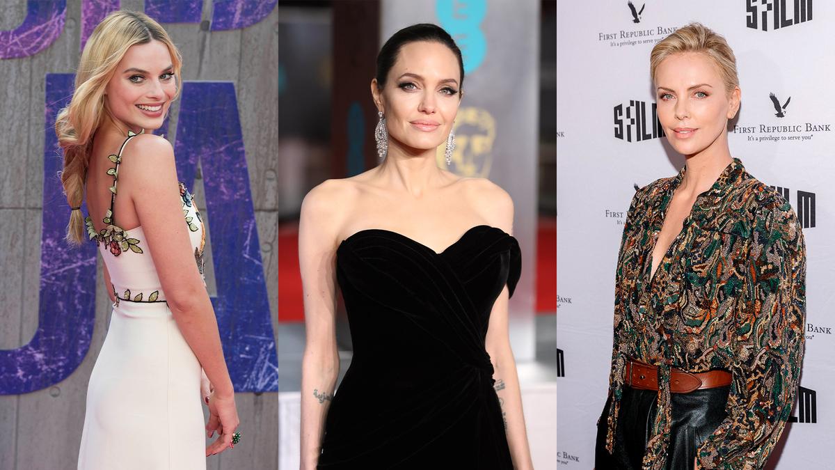 Как выглядят самые красивые актрисы ХХI века без макияжа: Джоли, Робби, Терон и другие