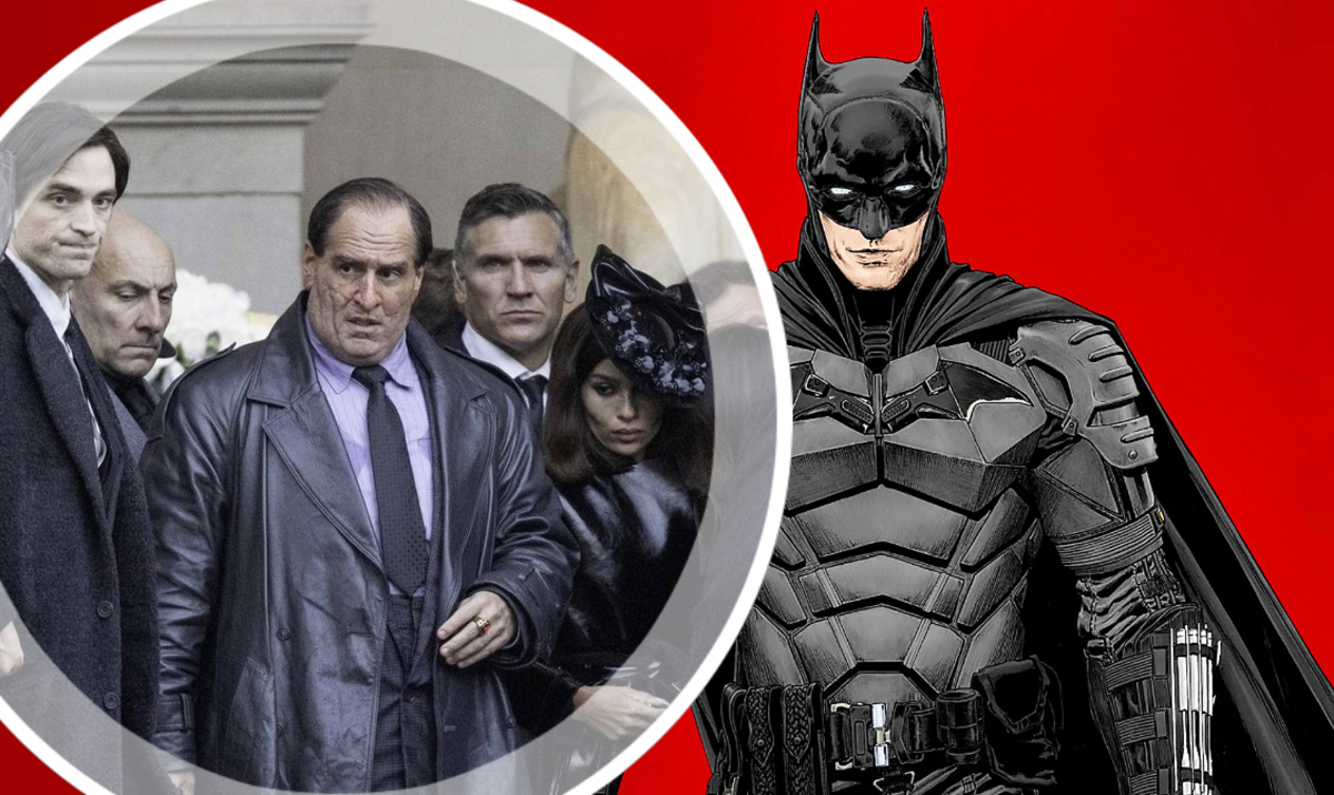 Роберт Паттинсон, Зои Кравиц и Колин Фаррелл на съемках «Бэтмена»