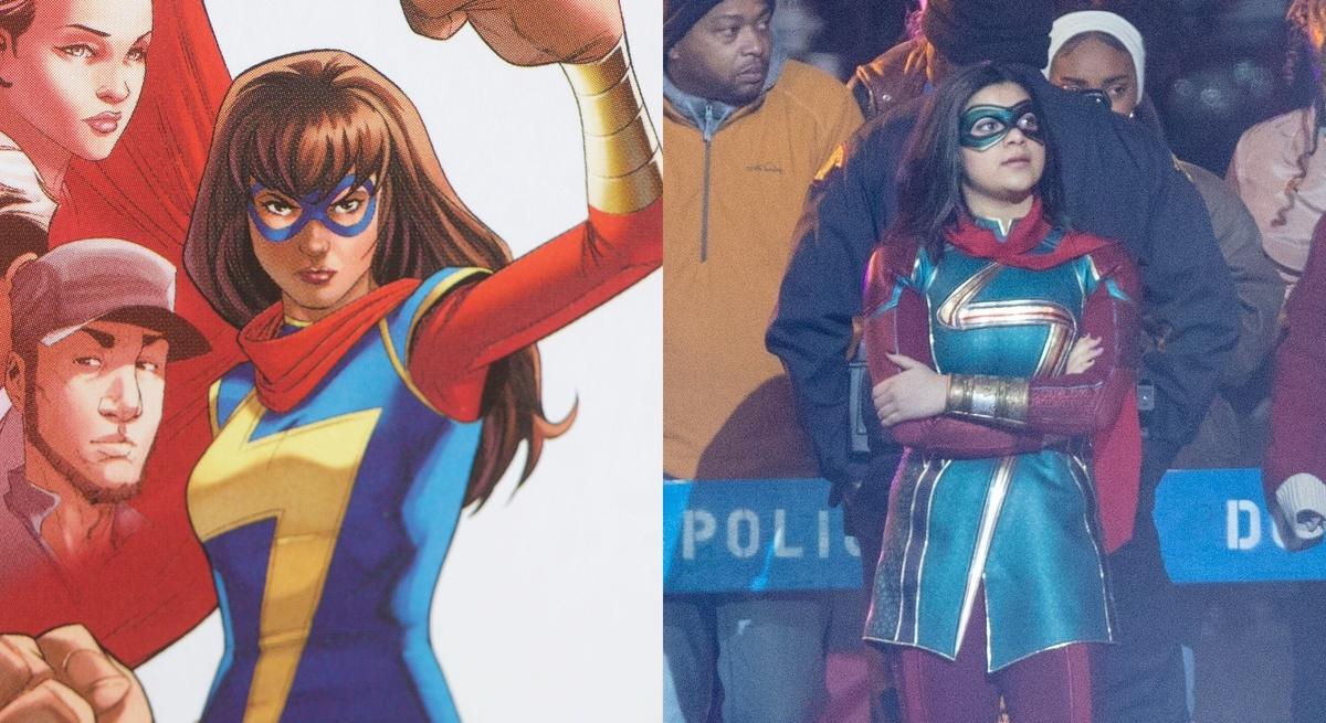 Мусульманская супергероиня Мисс Марвел оказалась затянута в секси-латекс: фото