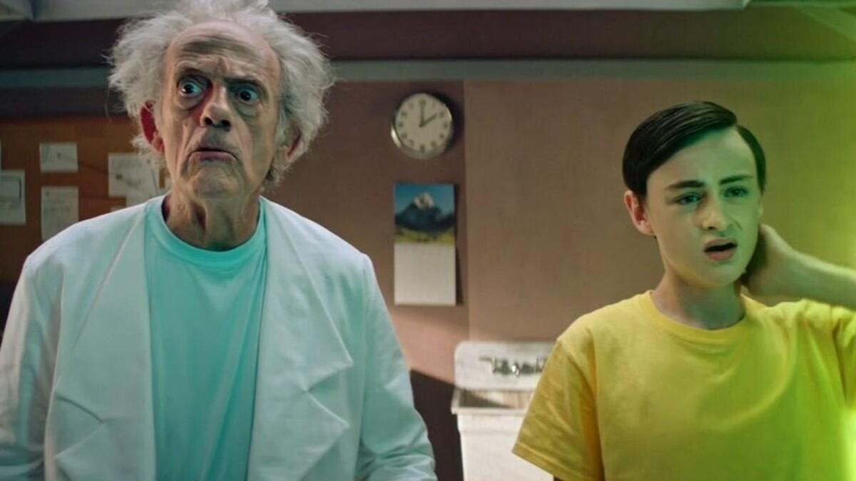 Уже было в «Симпсонах»: звезда «Назад в будущее» снялся в сериале «Рик и Морти»