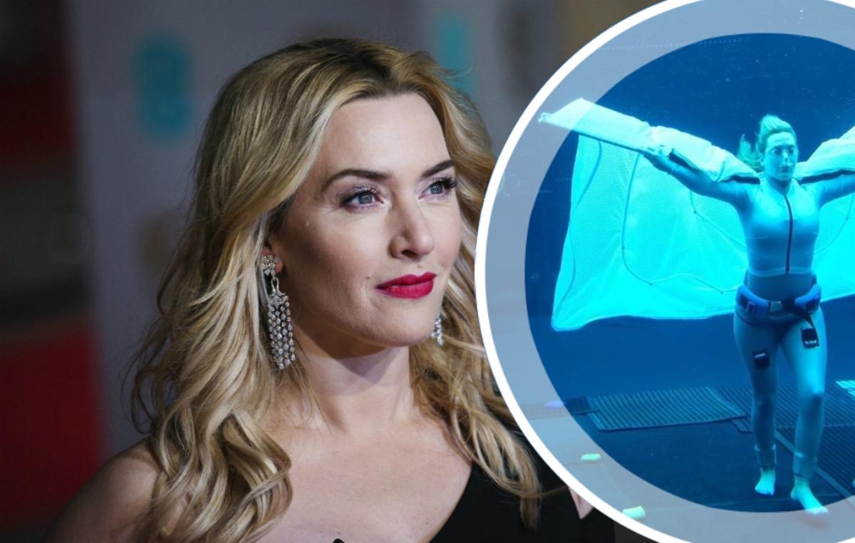 «Безумие, просто безумие»: Кейт Уинслет под водой на съемках нового «Аватара»