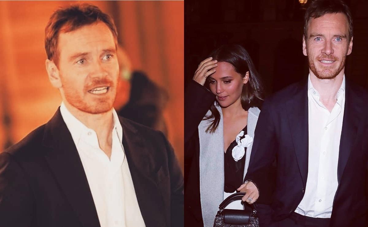 Редкий выход: Майкл Фассбендер и Алисия Викандер посетили вечеринку Louis Vuitton на Неделе моды