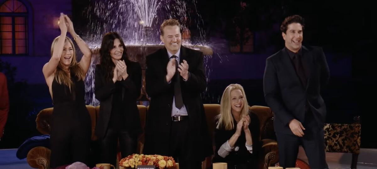 Первые кадры спецэпизода: создатели «Друзей» привели фанатов в восторг