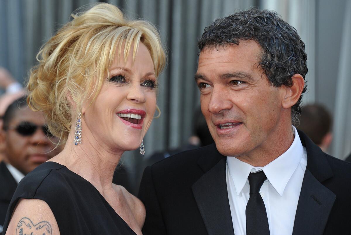 Антонио Бандерас рассказал о хороших отношениях с экс-супругой Мелани Гриффит
