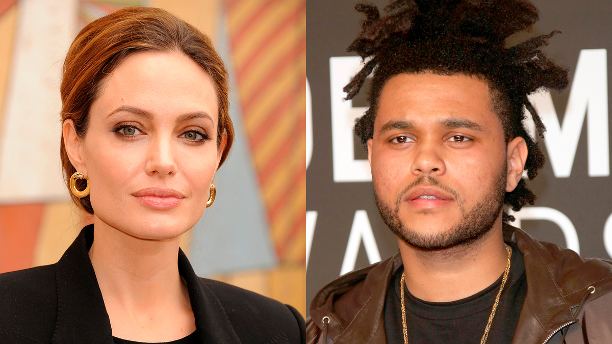 Снова вместе: Анджелину Джоли заметили в одной компании с The Weeknd