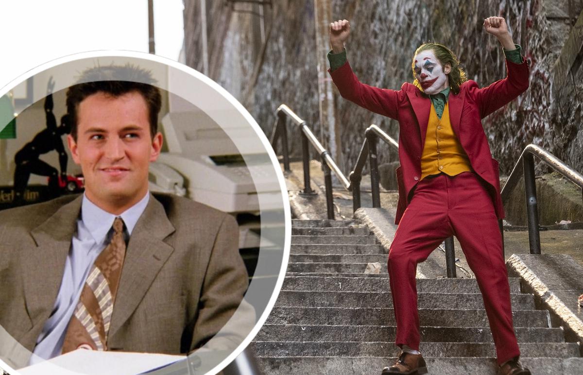 Чем похожи Джокер и Чендлер из «Друзей»? Показывает Мэттью Перри